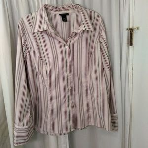 Lane Bryant Button Up Professional Cute Top 18/20